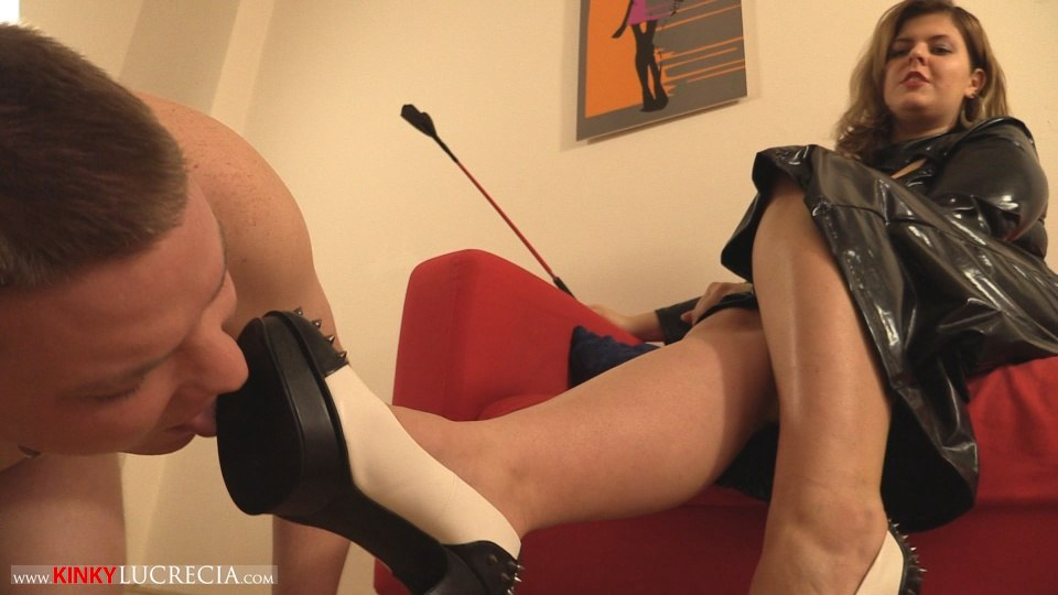 Kinky Lucrecia - KL10 - Shoe worship and trampling CFNM - 03