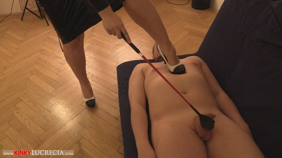 Kinky Lucrecia - KL10 - Shoe worship and trampling CFNM - 13