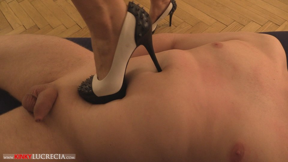 Kinky Lucrecia - KL10 - Shoe worship and trampling CFNM - 20