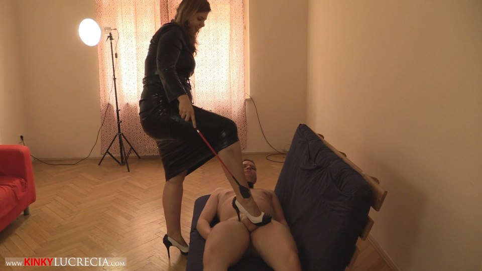 Kinky Lucrecia - KL10 - Shoe worship and trampling CFNM - 21