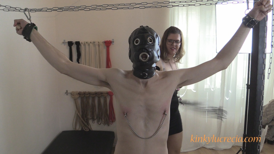 Kinky Lucrecia - KL14 - Tied-up and tortured - 08