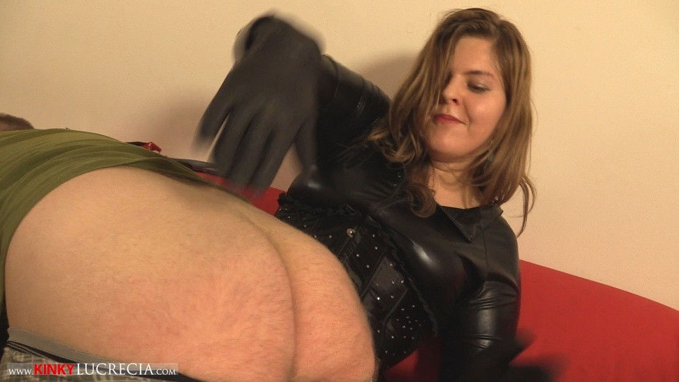 Madam Lucrecia Spanking on the sofa 3